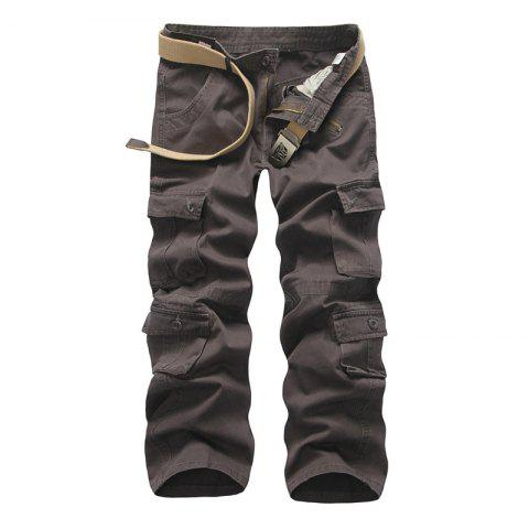 Shop Loose Tooling All-Match Pocket Leisure Pants