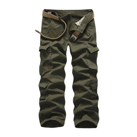 Fancy Loose Tooling All-Match Pocket Leisure Pants
