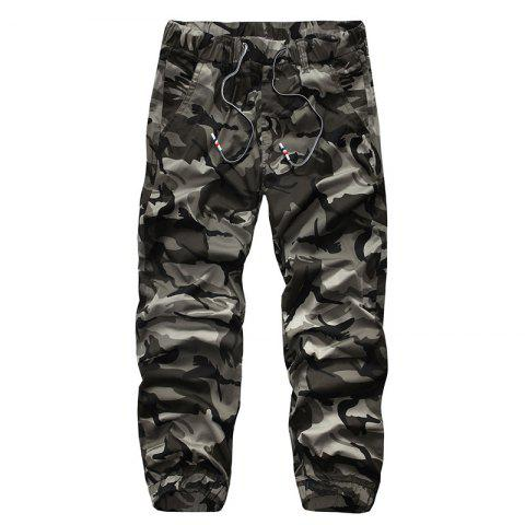 Sale Recreational Equipment All-Match Elastic Camouflage Pants