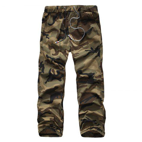 Affordable Recreational Equipment All-Match Elastic Camouflage Pants