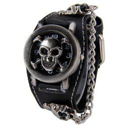 V5 Man Punk Skull Watch -