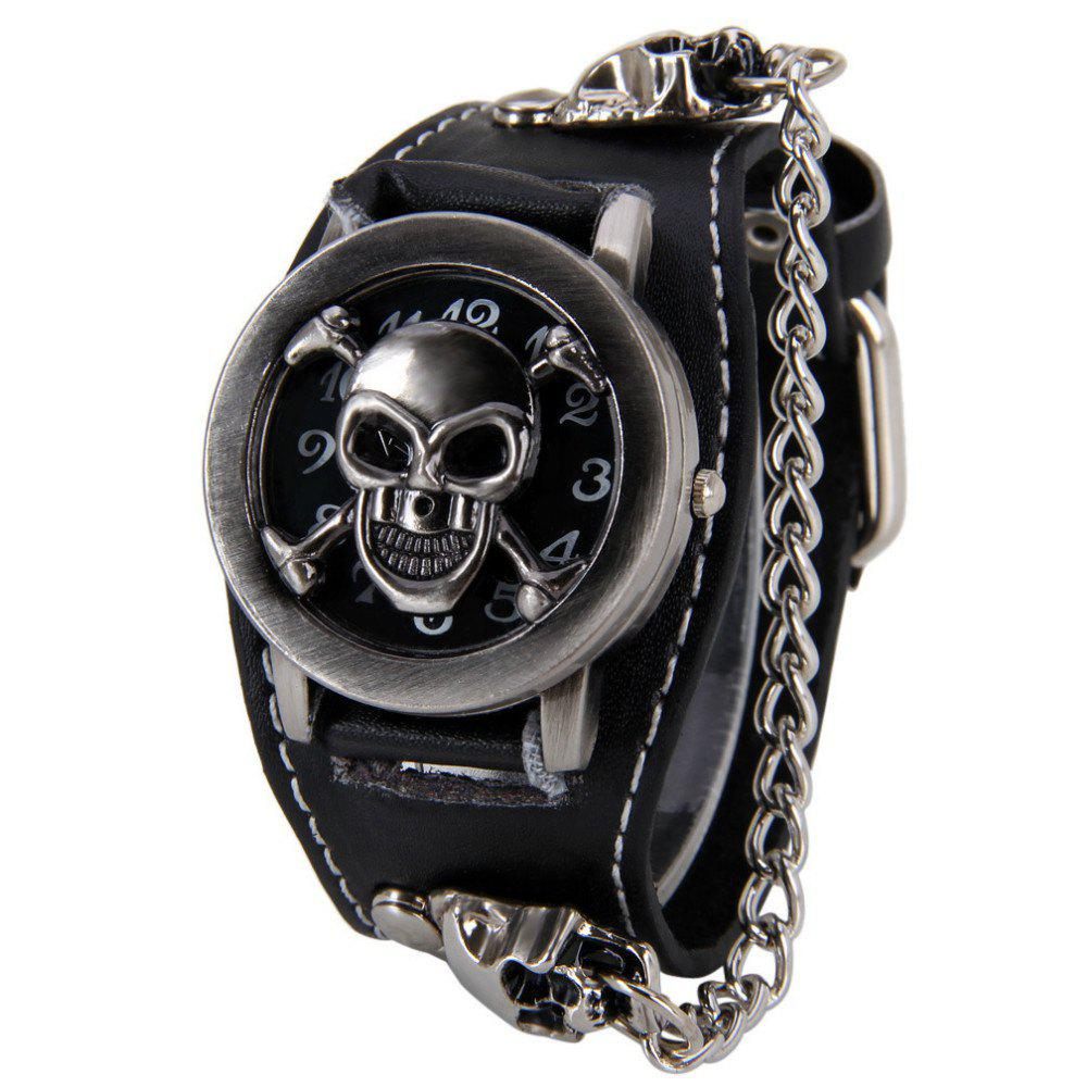 V5 Man Punk Skull Watch