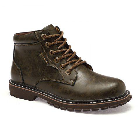 Affordable Autumn and Winter Cowhide Rubber Shoes