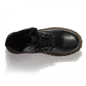 Suede Leather Shoes with Rubber Soles -