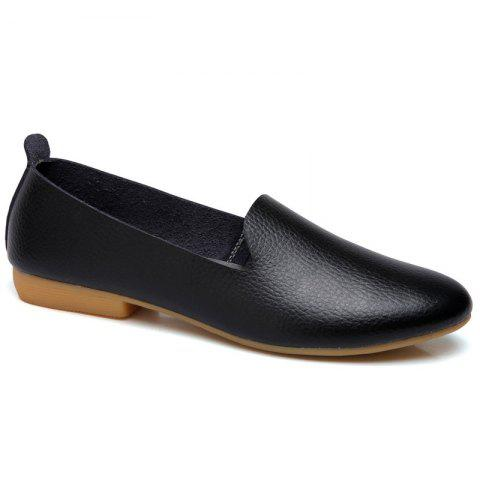 Outfits Spring Cattle Hide Leisure Nurse Students Leather Shoes