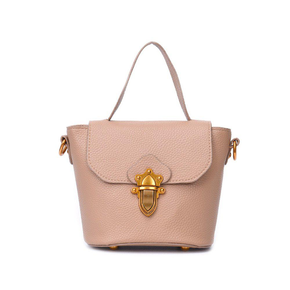 New Bucket Female Wind Simple Wild Messenger Bag Handbags