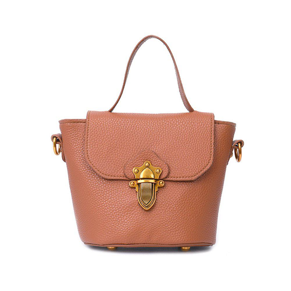 Buy Bucket Female Wind Simple Wild Messenger Bag Handbags