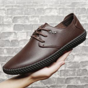 Classic Business Casual Leather Shoes -