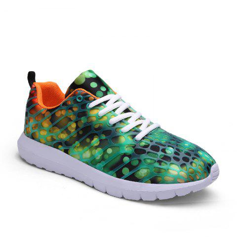 Shops Women's Sports Shoes Stylish Colorblock Sneakers  Casual Breathable Comfy Running Shoes
