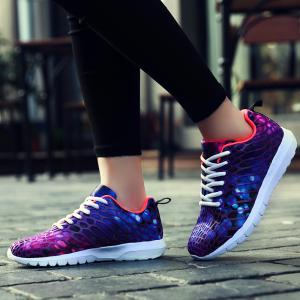 Men's Sports Shoes Stylish Colorblock Sneakers Casual Breathable Comfy Running Shoes -