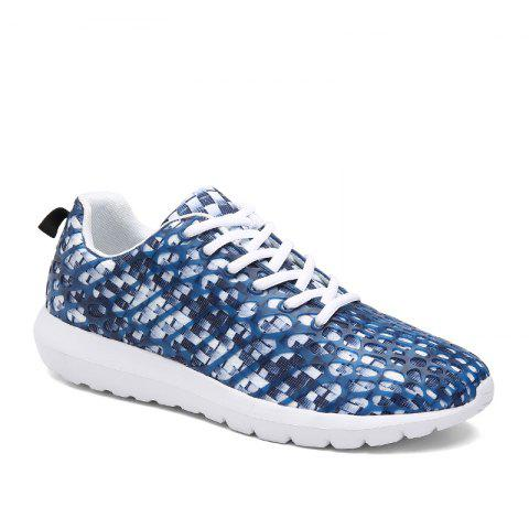 Affordable Men's Sports Shoes Stylish Colorblock Sneakers Casual Breathable Comfy Running Shoes