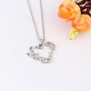 Fashion Simple Hollow  Pendant Necklace -