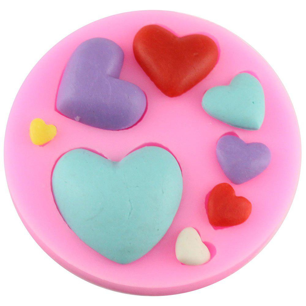 Chic Love Series of Chocolate Chocolate Cake Fondant Mold