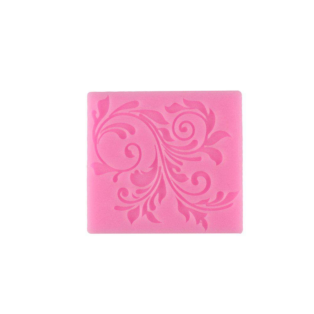 Latest Leaf Pattern Lace Silicone Cake Mold