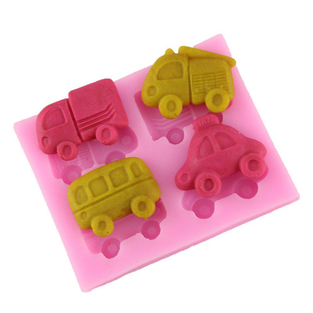 New Cartoon Car Silicone Fudge Cake Mold