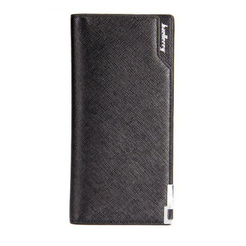 Best Baellerry Creative Long Casual Bussiness Trifold PU Leather Wallet Credit Card Holder