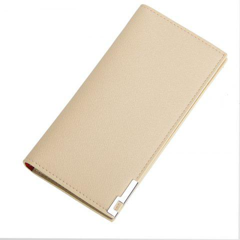 Buy Long Ultra Thin Soft Leather Bifold Wallet Durable Credit Card Holder for Men