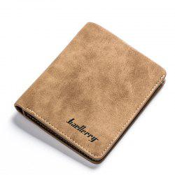 Baellerry Vintage PU Leather Bifold Wallet Credit Card Holder -