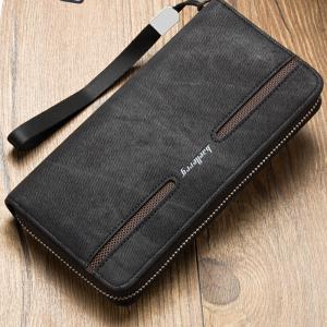 Fashion Men's Hand Bag Long Casual Bussiness Wallet Credit Card Holder -