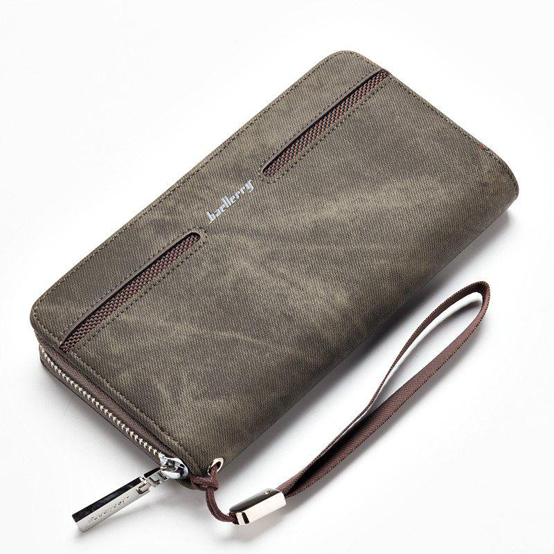 Store Baellerry Fashion Men's Hand Bag Long Casual Bussiness Wallet Credit Card Holder