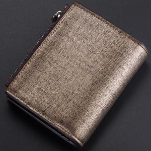 Baellerry Multi-function Men's PU Leather Bussiness Short Wallet Credit Card Holder -