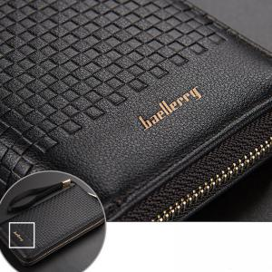 Baellerry Multi-function Men's Large Capacity Hand Bag Long Casual Wallet Credit Card Holder -