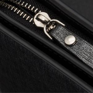 Fashion Multi-function Large Capacity Zipper Hand Bag Business Long Wallet Credit Card Holder -