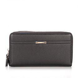 Multi-function Fashion Men's Business Long Wallet Zipper Large Capacity Hand Bag -