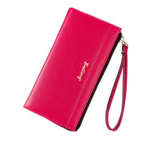 Shops Baellerry Multi-Function Long Wallet Zipper Embossed Purse Hand Bag for Women