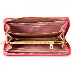 Baellerry Creative Long Butterfly Purse Zipper  Large Capacity Bowknot Wallet Hand Bag -