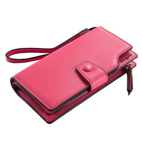 Affordable Baellerry Long Purse Large Capacity Zipper Wallet Hand Bag Credit Card Holder