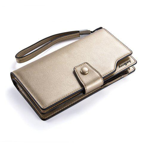 Latest Baellerry Long Purse Large Capacity Zipper Wallet Hand Bag Credit Card Holder