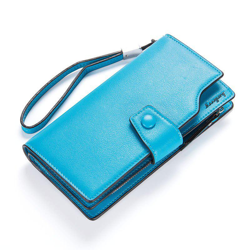 Hot Baellerry Long Purse Large Capacity Zipper Wallet Hand Bag Credit Card Holder