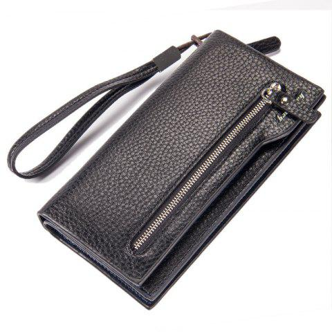 Hot Fashion Multi-Function Men's Long Bussiness Wallet Large Capacity Hand Bag Credit Card Holder