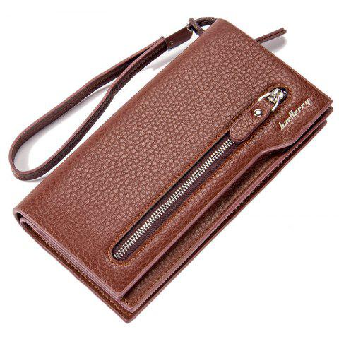 Shops Baellerry  Multi-Function Men's Long Bussiness Wallet Large Capacity Hand Bag Credit Card Holder