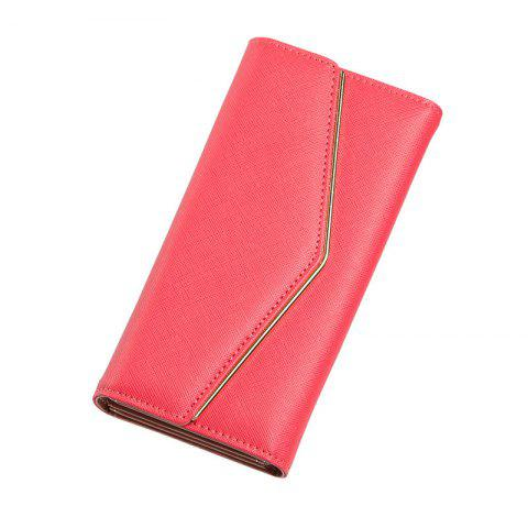 Online Women's Trifold Long Purse Casual Wallet Hand Bag Credit Card Holder