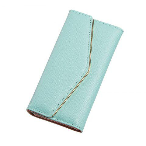 Trendy Women's Trifold Long Purse Casual Wallet Hand Bag Credit Card Holder