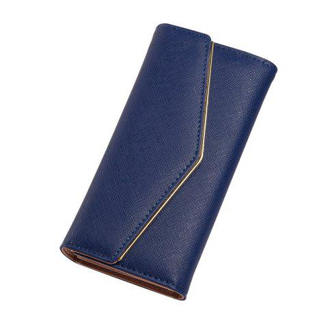Latest Baellerry Women's Trifold Long Purse Casual Wallet Hand Bag Credit Card Holder