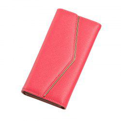 Women's Trifold Long Purse Casual Wallet Hand Bag Credit Card Holder -