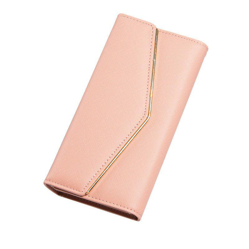 New Baellerry Women's Trifold Long Purse Casual Wallet Hand Bag Credit Card Holder