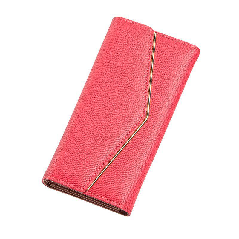 Online Baellerry Women's Trifold Long Purse Casual Wallet Hand Bag Credit Card Holder