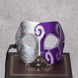 Masquerade Party Mask Jazz Mask Prince Carved Mask Half Face Dance Masks -