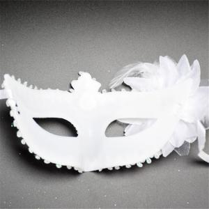 Sexy Venetian Masquerade Masks Halloween Party Princess Lace Feather Ball Pattern Women Half Face Eye Mask Hot Sale -