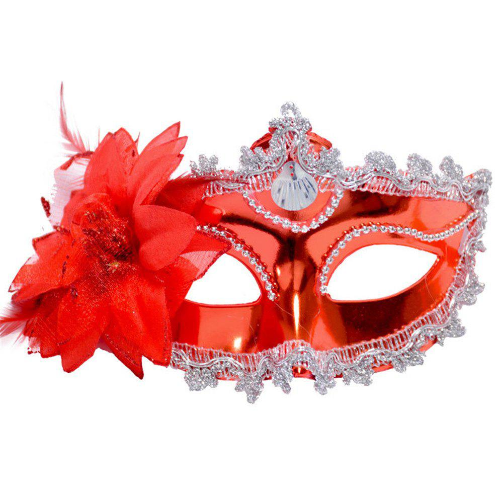 Store Sexy Venetian Masquerade Masks Halloween Party Princess Lace Feather Ball Pattern Women Half Face Eye Mask Hot Sale