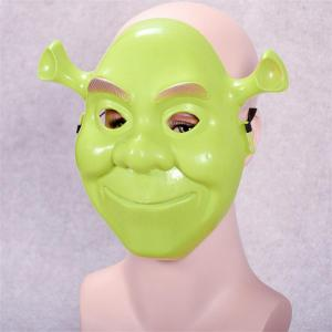 Green Shrek Latex Masks Movie Cosplay Prop Adult Animal Party Mask for Halloween -