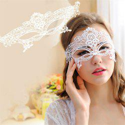 Sexy Black Lace Hollow Mask Goggles Nightclub Fashion Queen Female for Masquerade Party -