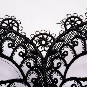 Mascarade Black Sexy Masque Dentelle Vintage Fun -