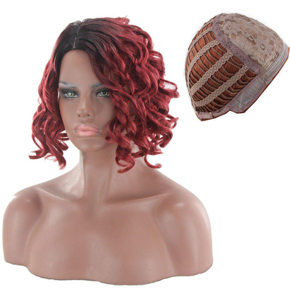 Outfits Ladies Fluffy Pear Roll Wigs
