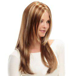 Ladies Mid-Point Gold Gradient Long Wigs -