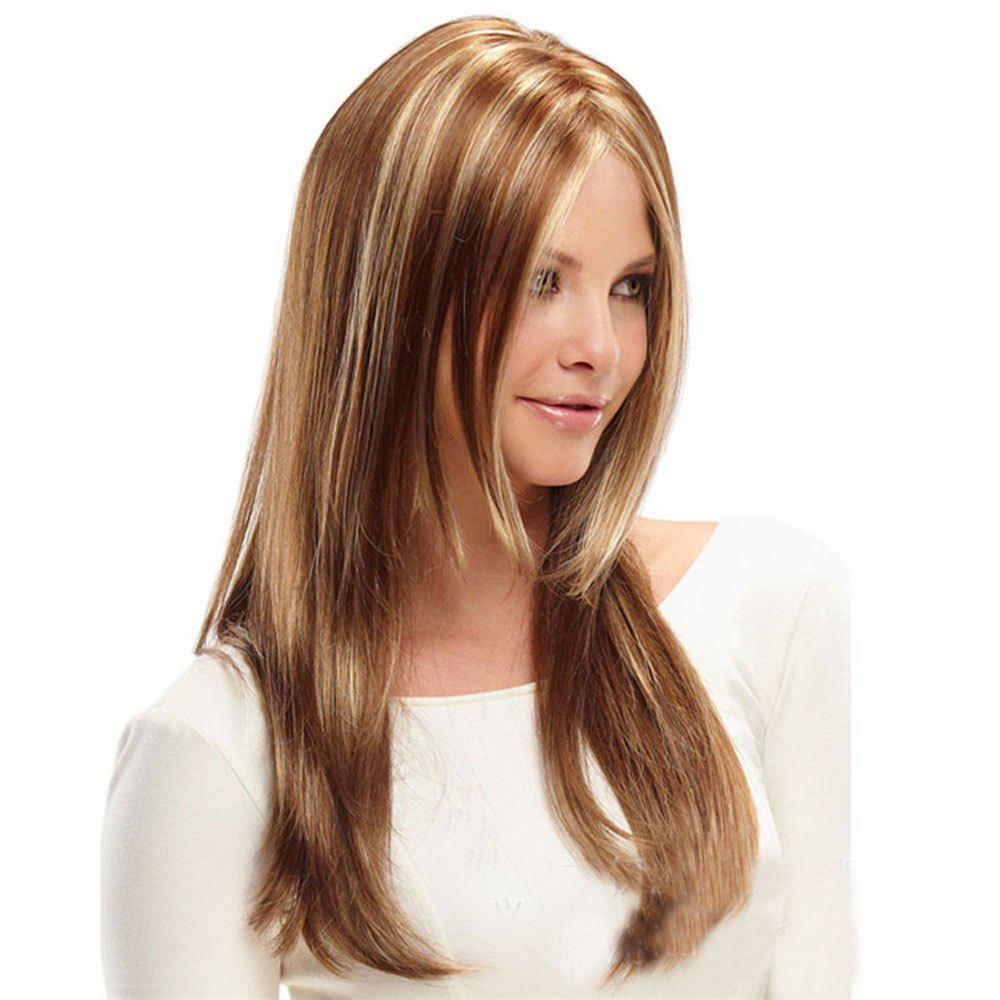 Buy Ladies Mid-Point Gold Gradient Long Wigs